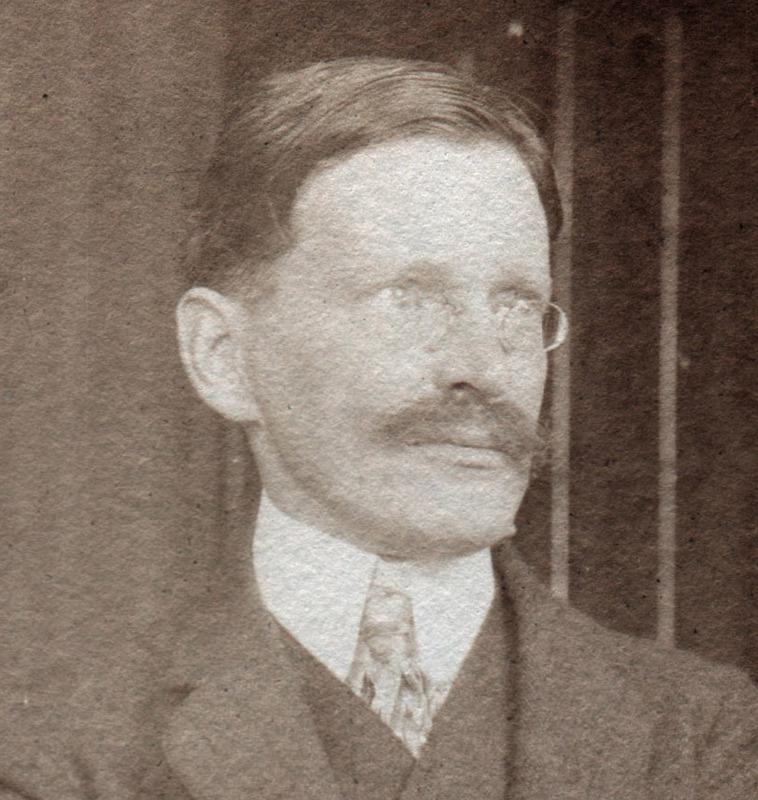 Portrait de Paul Perdrizet à Bâle
