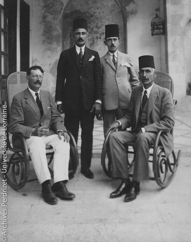 Paul Perdrizet, Arif bey et Raïf Aga Barakat