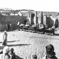 Fouilles de la nécropole d'Hermopolis Magna