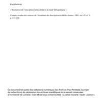Perdrizet 1901-La triade d'Héliopolis.pdf