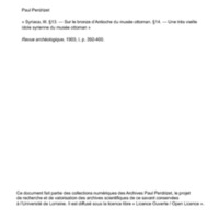 Perdrizet 1903-Syriaca III-13-14.pdf