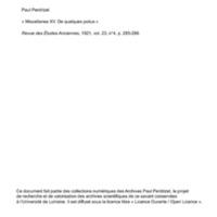 Perdrizet 1921-Miscellanea XV - De quelques poilus.pdf