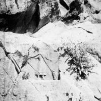 Relief votif rupestre à Philippes