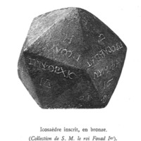Icosaèdre égyptien