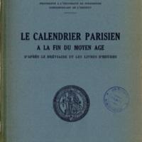 Perdrizet_1933-Le calendrier parisien à la fin du Moyen Age.jpg