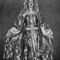 Statue de la Vierge de Miséricorde par Mansuy