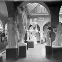 Atrium du musée archéologique de la faculté des lettres de Nancy