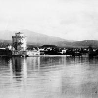 Port de Thessalonique avec la Tour Blanche