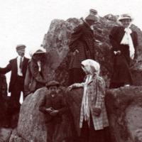 Paul Perdrizet et les Gallé à Trébeurden