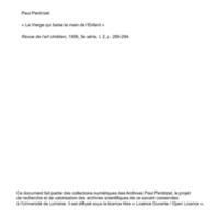 Perdrizet 1906-La vierge qui baise la main de l'enfant.pdf